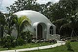 Monolithic dome home - Click to enlarge.